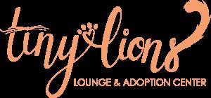 Tiny Lions lounge and adoption Center logo