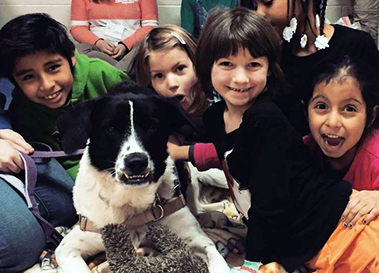 Children from Ypsilanti International School