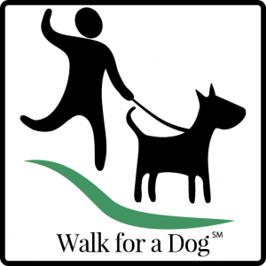 Walk for a Dog logo