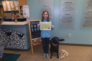 Ava Gives Back to Animals on her Birthday!