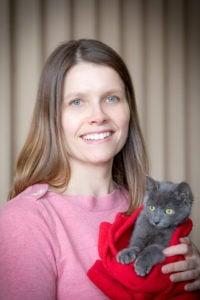 Marketing, photographer Anne Savage, portrait, staff, Tawn Hinze